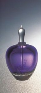 blown glass purple