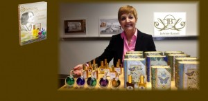 Natural Perfumer creating masterpieces