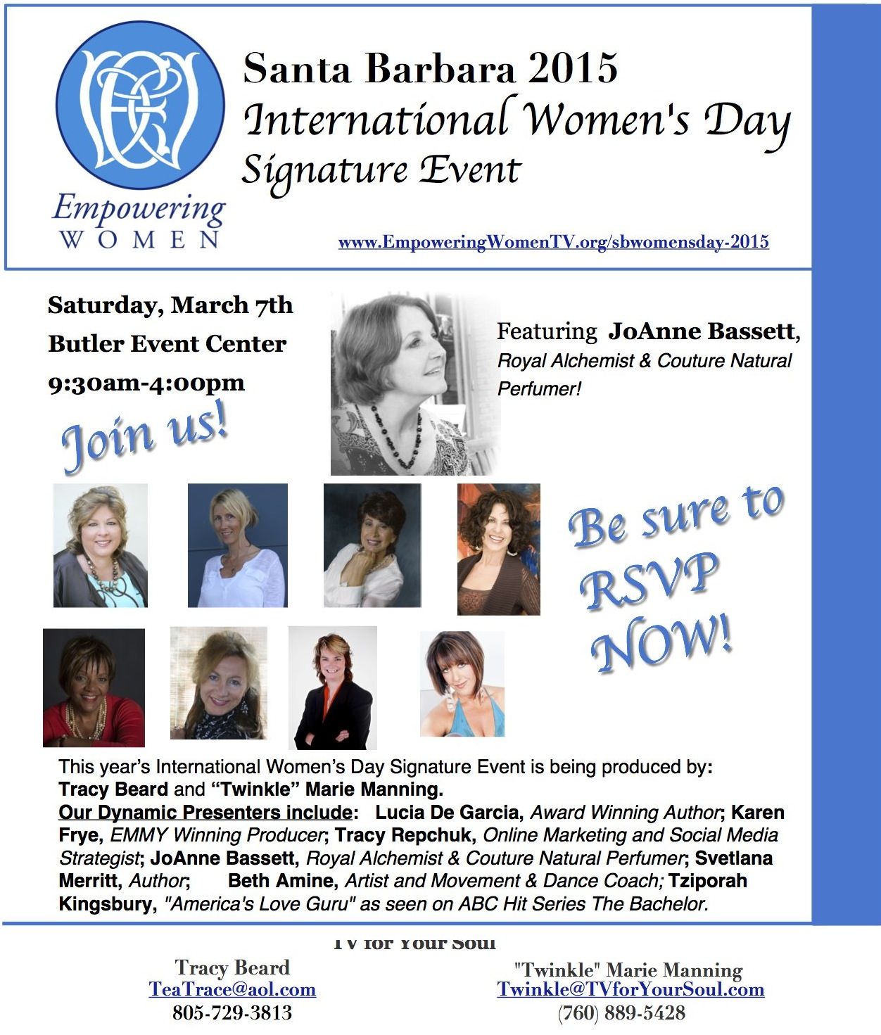 SB Women's Day poster JoAnne featured